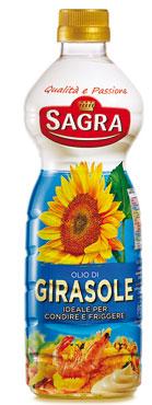 Olio semi Girasole Sagra 1 l