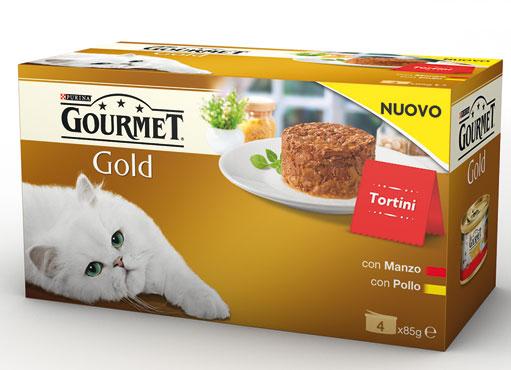 Gourmet Gold Tortini/Cuore Morbido vari gusti 4x85 g