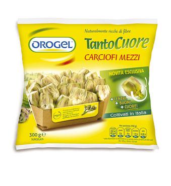 Mezzi carciofi Orogel 300 g