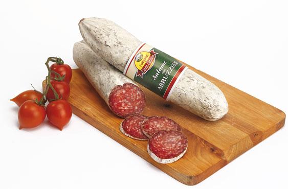Salame tipo Abruzzese Castel Castagna 300 g ca al kg