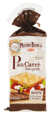 Pan Carre' integrale Mulino Bianco 315 g