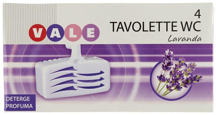 Tavolette Wc Vale (lavanda - pino) x 4