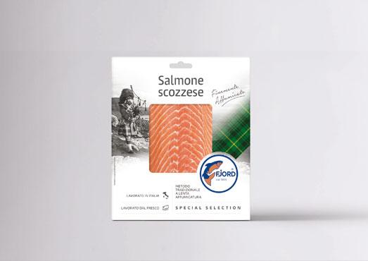 Salmone scozzese affumicato Fjord 100 g