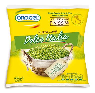 Piselli finissimi dolce italia Orogel 600 g