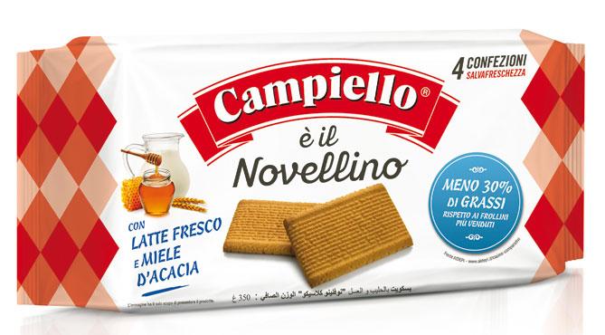 Biscotti Novellini/Gran Chicco Campiello vari tipi 350/410 g