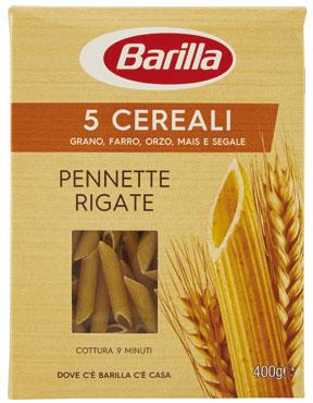 Barilla 5 cereali vari formati 400 g