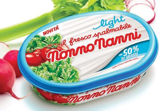 Spalmabile light Nonno Nanni 150 g