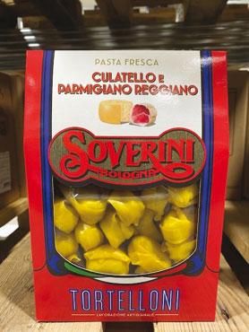 Tortelloni culatello-parmigiano reggiano Soverini 250 g
