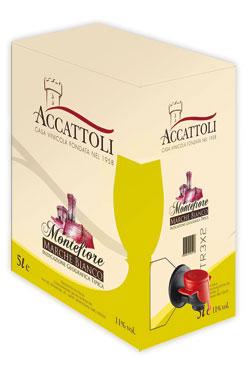Bianco/Rosso Marche IGT bag in box Accattoli 5 l
