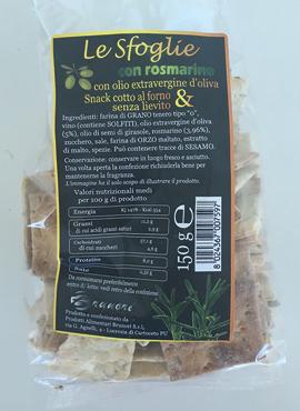 Le Sfoglie Brunori vari gusti 150 g