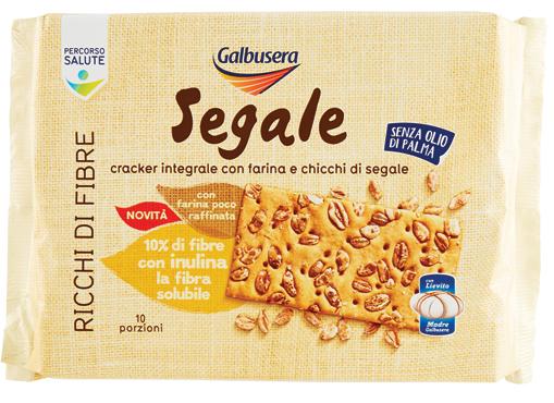 Crackers integrali di segale Galbusera 380 g