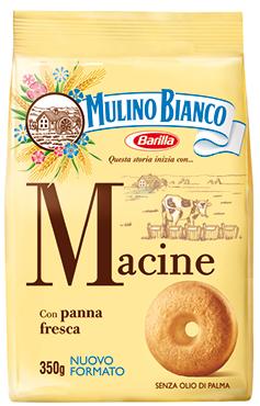 Biscotti Galletti/Spicchidisole/Macine/Girotondi/Tarallucci Mulino Bianco 350 g