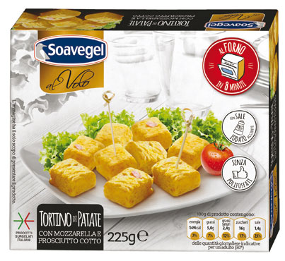 Tortino di patate/Panzerottini Soavegel 225/250 g