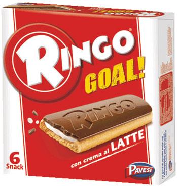Ringo Goal snack latte/cacao 168 g