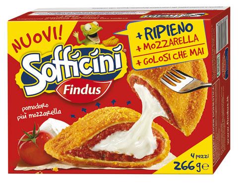 Sofficini Findus vari gusti 266 g
