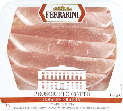 Prosciutto cotto aq Casa Ferrarini 100 g