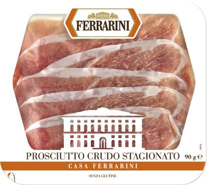 Prosciutto crudo stagionato Casa Ferrarini 90 g