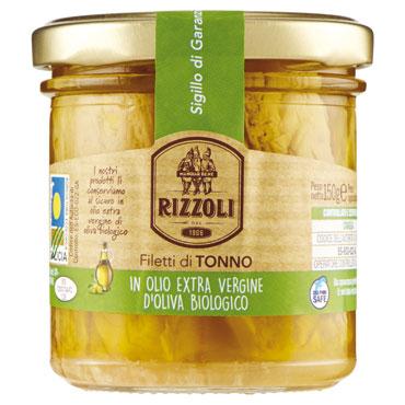 Filetti Tonno Evo Bio Rizzoli 150 g