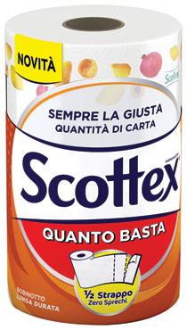 Asciugatutto Scottex quanto basta