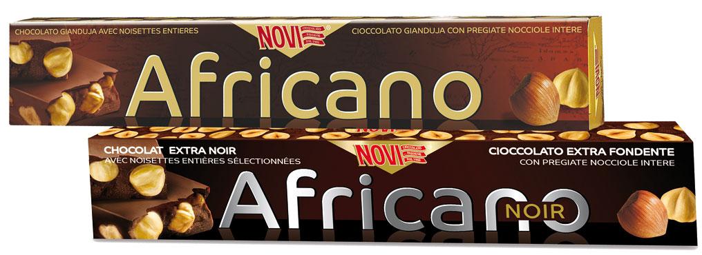 Torrone Africano Novi vari tipi 200 g