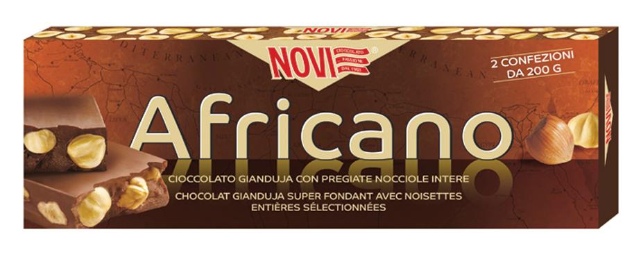 Barra cioccolato Africano Novi 400 g