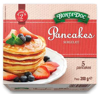 Pancake surgelati Bonta' DOC 200 g