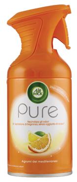 Air Wick Spray Pure varie profumazioni 250 ml