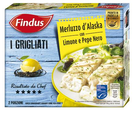I grigliati  Findus 250 g