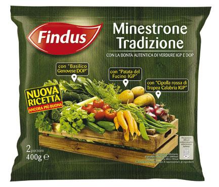 Minestrone tradizionale Findus 400 g