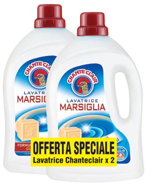Detersivo liquido Chanteclair vari tipi x 2 23 lavaggi