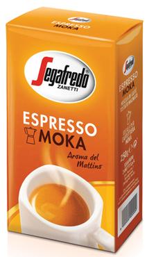 Caffe' espresso-moka/espresso Segafredo 250 g