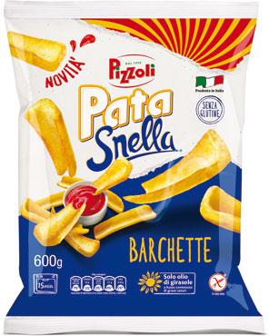 Barchette patasnella Pizzoli 600 g