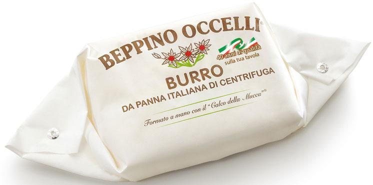 Burro Beppino occelli 125 g