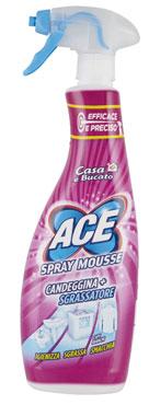 Ace detergente Spray varie tipologie