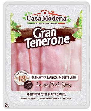 Gran Tenerone prosciutto cotto a.q.Casa Modena 110 g