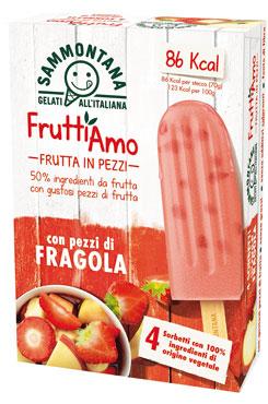 Stecco Fruttiamo Sammontana vari gusti 280 g