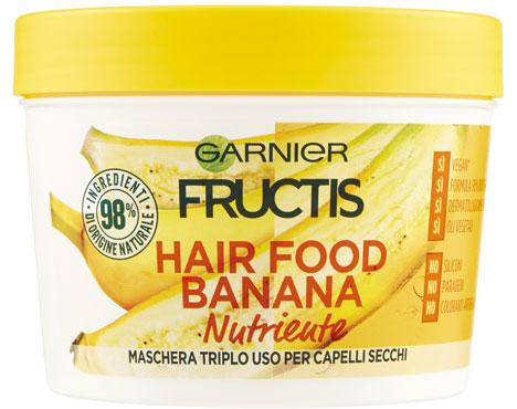 Maschera Hairfood Fructis banana/papaya 300 ml