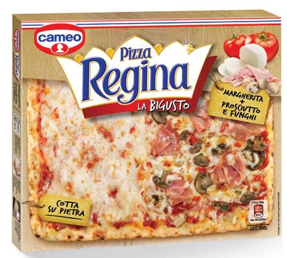 Pizza regina bigusto Cameo vari tipi 490/500 g