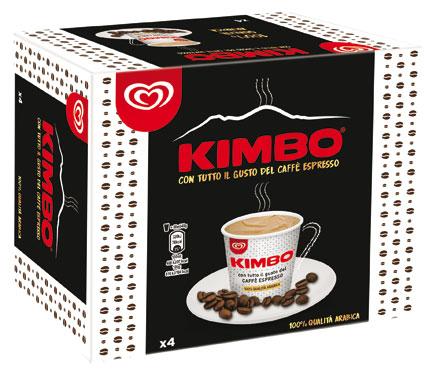 Mini Coppa Kimbo x4/Kimbo bon bon Algida 160/180 g