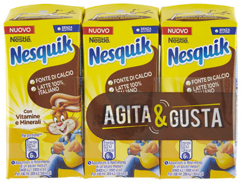 Nesquik ready to drink 3 x 180 g