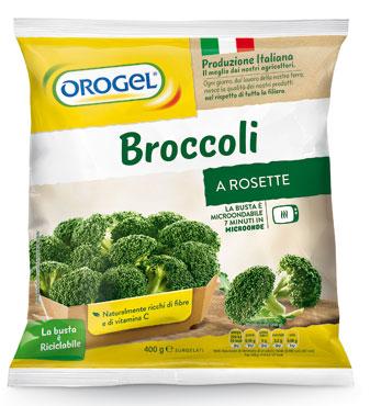 Broccoli a rosette Orogel 400 g