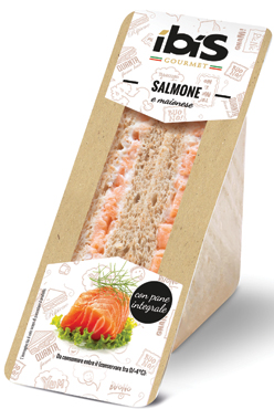 Sandwich gourmet gusti vari Ibis 150/170 g