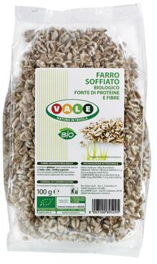 Farro/Riso soffiato Vale Bio 100 g