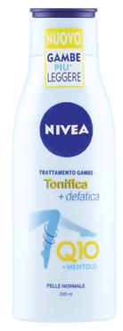 Crema corpo Nivea vari tipi /Nivea Body trattamento gambe Q10/rassodante nutriente 200/250 ml