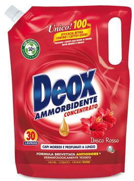 Deox ammorbidente concentrato Oro/Rosso 30 lavaggi 750 ml