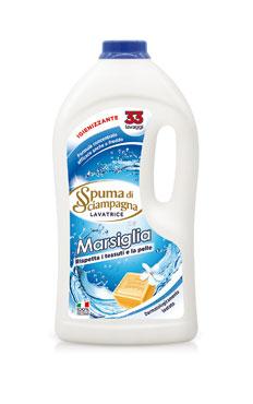 Detersivo lavatrice Spuma Sciampagna marsiglia/bianco puro 33lav