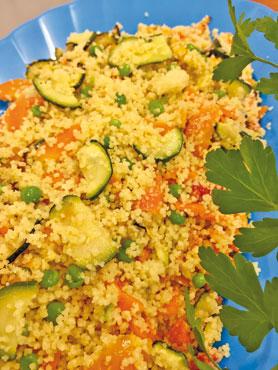 Insalata cous cous alle verdure Delizie Gastronomiche al kg