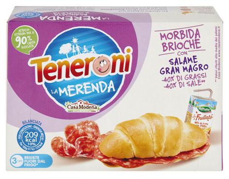 Teneroni 'la merenda'classico/brioche Casa Modena 170 g