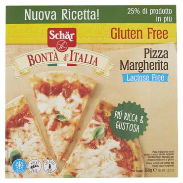 Pizza Margherita senza glutine e senza lattosio Dr.Schar 350 g