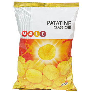 Patatine Vale busta 200 g